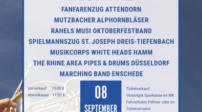 Marsch- und Blasmusikfestival